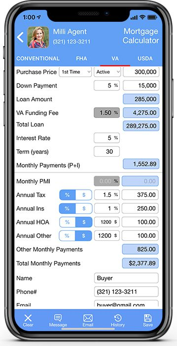 Agent-Company Branded App-for Real Estate Companies and Lenders