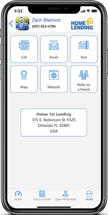 Home 1st Lending App Screenshots