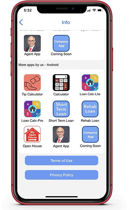 Loan Calculator-Mortgage Calculator for Realtors, Loan Officers